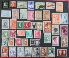 GRECE - 1947 / 57 - ROYAUME - Lot De Timbres N° 3 - Griechenland