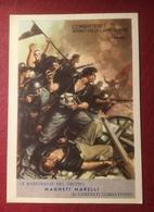 WW2 PNF Combattere !  Pubblicitaria Magneti Marelli - Guerra 1939-45