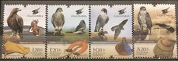 Portugal, 2013, Falcony (MNH) - Águilas & Aves De Presa
