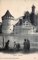 Suisse - Luzern : Les Lavandières Et Nölliturm - LU Lucerne