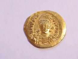 Empire De Byzance Justin Premier THRAX 518-527 - Byzantine