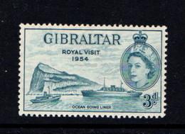 GIBRALTAR    1954    Royal  Vaisit      MNH - Gibraltar