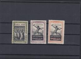 Lot Jeux Olympiques Paris 1924 - Summer 1924: Paris