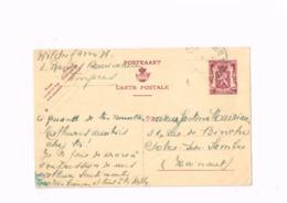 Entier Postal à 65 Centimes.Expédié De Tongres à Solre-sur-Sambre. - Stamped Stationery