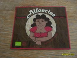ETIQUETTE BIERE ALFONCINE - Beer
