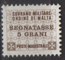 PIA - SMOM - 1989 : Segnatasse -  (UN  17-22) - Sovrano Militare Ordine Di Malta