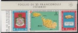 PIA - SMOM - 1989 : Raduno A Malta Di Di Tutte Le Associazioni Dell' Ordine  - (SAS 310-12) - Sovrano Militare Ordine Di Malta