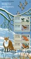 GREAT BRITAIN 2015 Post & Go: Winter Fur & Feathers Presentation Pack - Presentation Packs