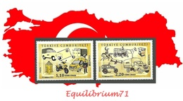 Europa (Véhicules Postaux) / Europa (Postvoertuigen) ** 2013 - Motorbikes