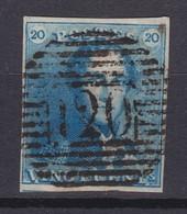 N° 2 Margé :  120 TOURNAI Grosses Barres - 1849 Epaulettes