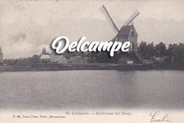 St- Leonards - Zicht Naar Het Dorp - Molen / Moulin - Brecht