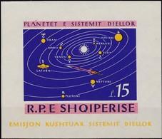 1964, Albanien, 901 Block27, Planeten Im Sonnensystem. MNH ** - Albania