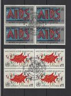 NATIONS UNIES VIENNE.  YT  N° 104:105  1990 - Centre International De Vienne
