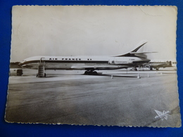 AEROPORT / AIRPORT / FLUGHAFEN     BORDEAUX MERIGNAC  CARAVELLE AIR FRANCE / VISCOUNT AIR INTER - Aérodromes
