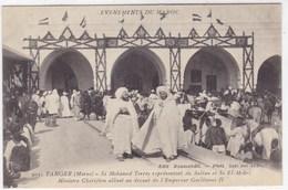 Evènement Du Maroc - Tanger - Si Mohamed Torres Représentant Du Sultan Et SI EL-Mokri - Tanger