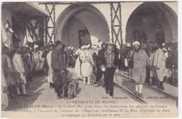 Evènement Du Maroc - Tanger - Le Colonel Mac Léan Donne Les Instructions Aux Officiers Des Troupes Chérifiennes - Tanger