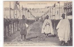 Evènement Du Maroc - Tanger - Les Décorations Du Môle à L'honneur De L'arrivée De L'Empereur Guillaume II - Tanger