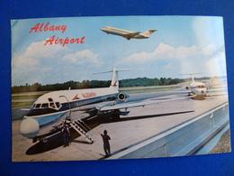 AEROPORT / AIRPORT / FLUGHAFEN    ALBANY AIRPORT  DC 9 ALLEGHENY - Aerodromi