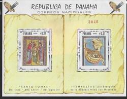 PANAMA - 1968 - ARTE SACRA - FOGLIETTO NUOVO **( MICHEL BL 82) - Arte