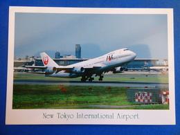AEROPORT / AIRPORT / FLUGHAFEN     NEW TOKYO INTERNATIONAL AIRPORT   747 JAL - Aerodromi