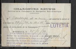 33 BORDEAUX BON POUR LE LUTETIA - Bordeaux
