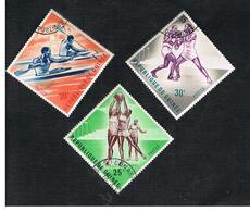 GUINEA -  SG 373.375  -  1963 SPORTS    - USED ° - Guinea (1958-...)