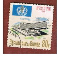 GUINEA -  SG 577 -  1967 O.M.S. BUILDING  - USED ° - Guinea (1958-...)