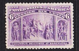 USA [1893] MiNr 0078 ( */mh ) - Ungebraucht