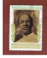 GUINEA -  SG 827   -  1973  O.U.A.: K. NKRUMAH  - USED ° - Guinea (1958-...)