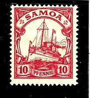 SAMOA 44* 10p Rouge Yacht Impérial Hohenzolern - Samoa
