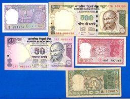 Inde  5  Billets - Inde