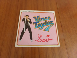 "Disque 33 T , 25 Cm,  Vince Taylor "" Money, Honey, That's All Right Mama + 6 Titres "" - Vinyl-Schallplatten"