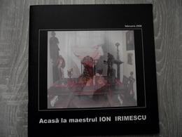 Romania - Suceava Falticeni - Art Album - Illustrated - Sculptures - Ion Irimescu, 33 Pages Glossy Quality Paper - Boeken, Tijdschriften, Stripverhalen