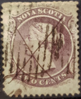 NOVA SCOTIA 1860 - Canceled - 2c - Usati