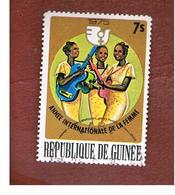 GUINEA -  SG 889   -  1976  INT. WOMAN YEAR  - USED ° - Guinea (1958-...)