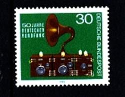 GERMANY/DEUTSCHLAND - 1973  RADIO  MINT NH - Ongebruikt