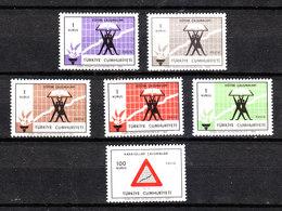 Turchia - 1969. Simbolo Della Statistica Per Lo Sviluppo Industriale.Symbol Of Statistics For Industrial Development.MNH - Scienze