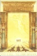 """Egitto ??, Tempio, """"Verso Il Sole"""", """"Der Sonne Enigegen"""", Riproduzione D03, Reproduction, Illustrazione - Altri"""