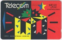 NEW ZEALAND A-775 Magnetic Telecom - Occasion, Christmas - 102BO - Used - Nuova Zelanda