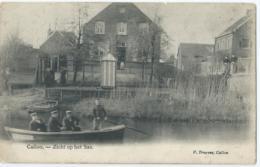 Calloo - Kallo - Zicht Op Het Sas - V. Truyens, Callou - 1910 - Belgique