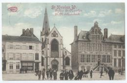 Sint-Niklaas - St-Nicolas W. - Eglise St-Nicolas - St. Niklaaskeerk - M. Marcovici - 1913 - Sint-Niklaas