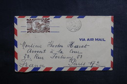 NOUVELLE CALÉDONIE - Enveloppe De Nouméa Pour Paris En 1948, Affranchissement Plaisant - L 38985 - Neukaledonien