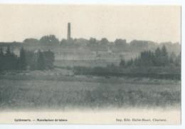 Cul-des-Sarts - Culdessarts - Manufacture De Tabacs - Imp. Edit Hallet-Henri, Charleroi - Cul-des-Sarts