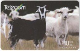 NEW ZEALAND A-817 Magnetic Telecom - Animal, Goat - 221CO - Used - Neuseeland