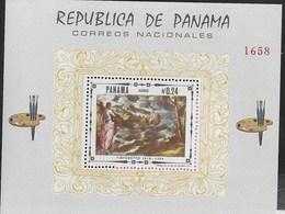 PANAMA - 1968 - TINTORETTO - FOGLIETTO NUOVO **( MICHEL BL 85) - Arte