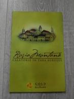Romania - Rosia Montana - Gold Mining - Tourist Illustrated Map - Tourism Brochure - Karte Carte - Toerisme