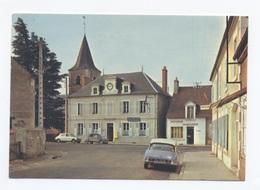 58, RAVEAU, La Mairie Et L' Eglise--VOITURES CITROËN--DS ET 2CV   RECTO/VERSO - B64 - Other Municipalities