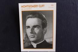 Sp-Acteur/ 1953 - Montgomery Clift, Né En 1920 à Omaha Et Mort En 1966 à New York, Est Un Acteur Américain - Attori