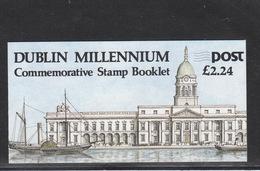 Irland   **  1000 Jahre Dublin Markenheft - Libretti