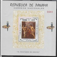 PANAMA - 1968 - GUIDO RENI - FOGLIETTO NUOVO ** ( MICHEL BL 84) - Arte